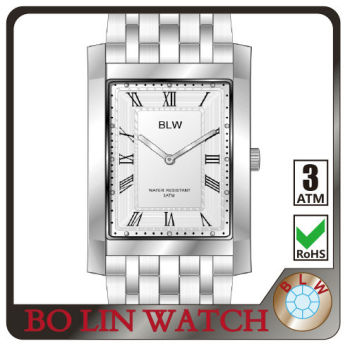 mens watch/stainless steel/japan movement/imported glass/5 atm/2015 latest/cheap, japan movt quartz watch stainless steel