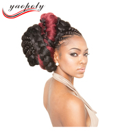 2017 New Products Synthetic Hair 2 Tone 3Tone Ombre Color Braids Synthetic Ombre Crochet Braids 100g 48inch