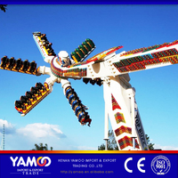 2016 top seller amusement park game thrilling rides speed windmill for sale