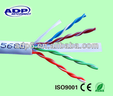 ADP good quality for fire resistance outdoor utp cat6 lan cable