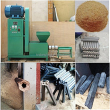 New technology charcoal making machine for hollow briquettes