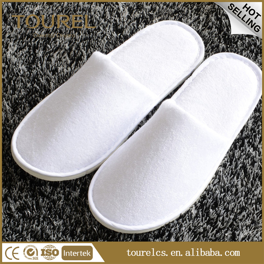 plush sleeper shoes washable hotel slipper