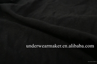 2017 Hot Sale Black Yarn Dyed Knit Jersey Fabric 85% Polyester 15% Cotton China