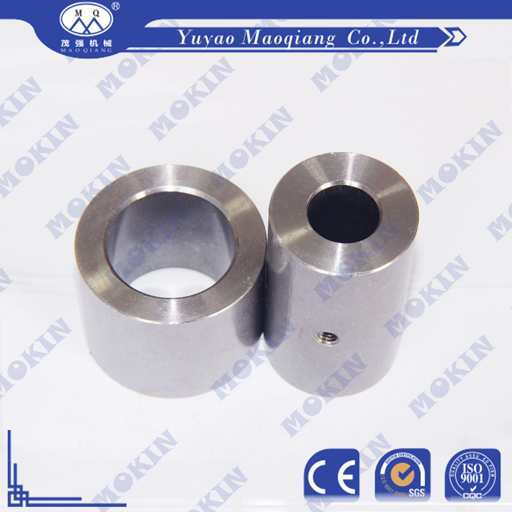 Anticorrosive Customized machining metal hardened steel sleeve bushings