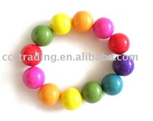 Fashion BRACELET,no plating,ACRYLIC material,any color available