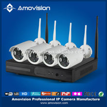 Amovision WNK402 4ch wifi nvr kit, plug in and play, IP 66 weatherproof, remote preview by mobile