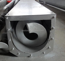 screw conveyor used for transporting materials in paper making industry