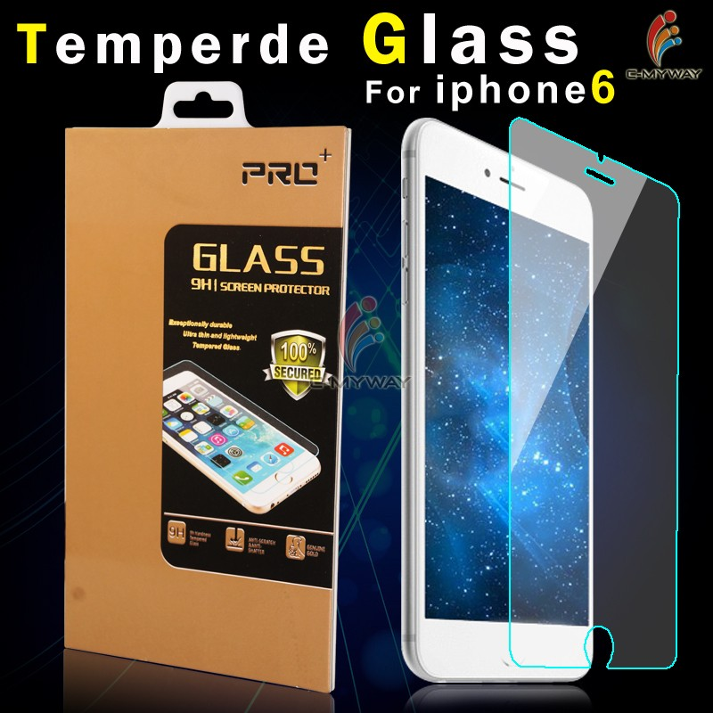 New Product For Iphone 7 Used Clear Tempered Glass Screen Protector From Factory Directly Sale