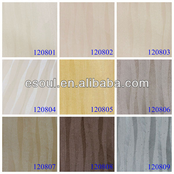 Hotel KTV pvc wall paper living room soundproof wall paper