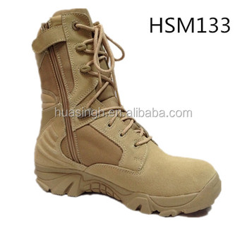 military warriors footwear security friendly suede leather Delta force desert boots