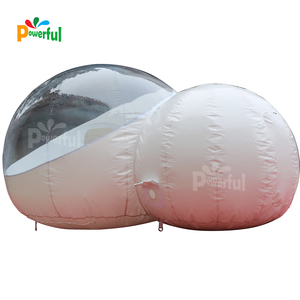 harf transparent inflatable igloo tent camping bubble tent