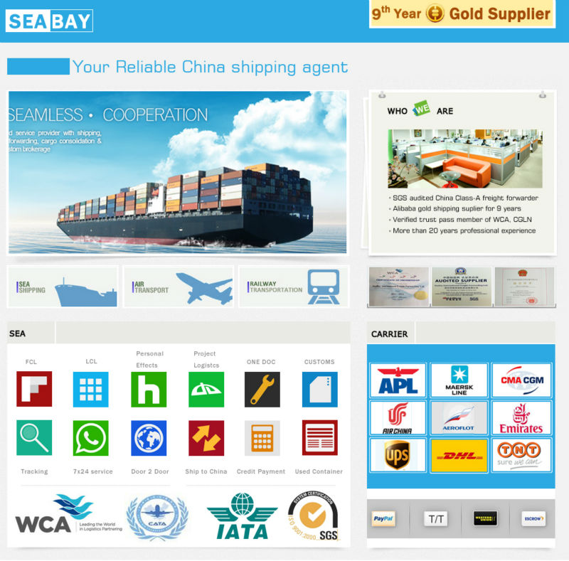 Quick reliable from china to valparaiso ocean sea freight shipping forwarder