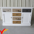 Fir Handmade White Dining Room Furniture Sideboard