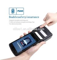 pda mobile 3g smart biometric printer pda device support wifi bluetooth pda with android os