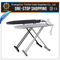 HX-3612 Best Price PP Plastic Feet Portable Iron Hangers Strong Folding Ironing Board