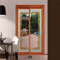 China hot sale glass industrial hanging sliding folding doors