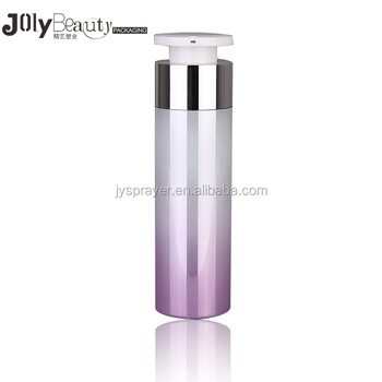 Wholesale 2018 most popular luxury airless cosmetic pump bottle