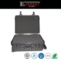 Factory price top quality safety plastic equipment case with wheels