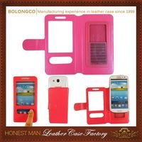 Hot Quality Trendy Pu Cell Phone Case For Lg G3