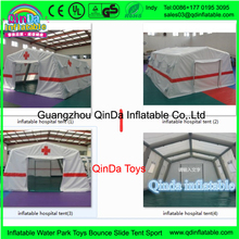 Equipments of emergency room temporary tent housing inflatable hospital tent