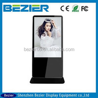 42 inch China blue film video media player hd high quality, hdmi led monitor, usb video.