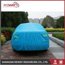 Christmas New year pp spun bonded fabric for car cover