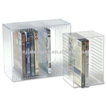 Acrylic Cd Racks Or Acrylic Cd Storage Holder-holds 30 Cds ...