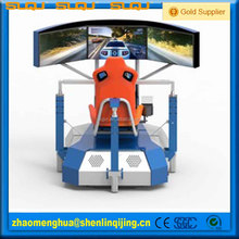 hot sale with 1 or 2 seats and driving games the 3d racing car game machine