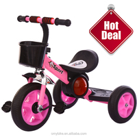 Motor type baby tricyle with light children trike with unique frame pedal tricycle for kids / kids trike infant trike drift