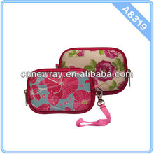 2014 Full Flowers Printing Neoprene Waterproof Camera Case