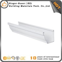 New arrival best quality 5 inch k style pvc gutter drainage system