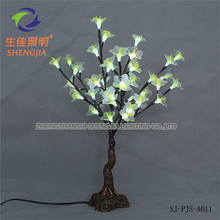 Led glowing low-price wholesale fabric light blue christmas tree gifts
