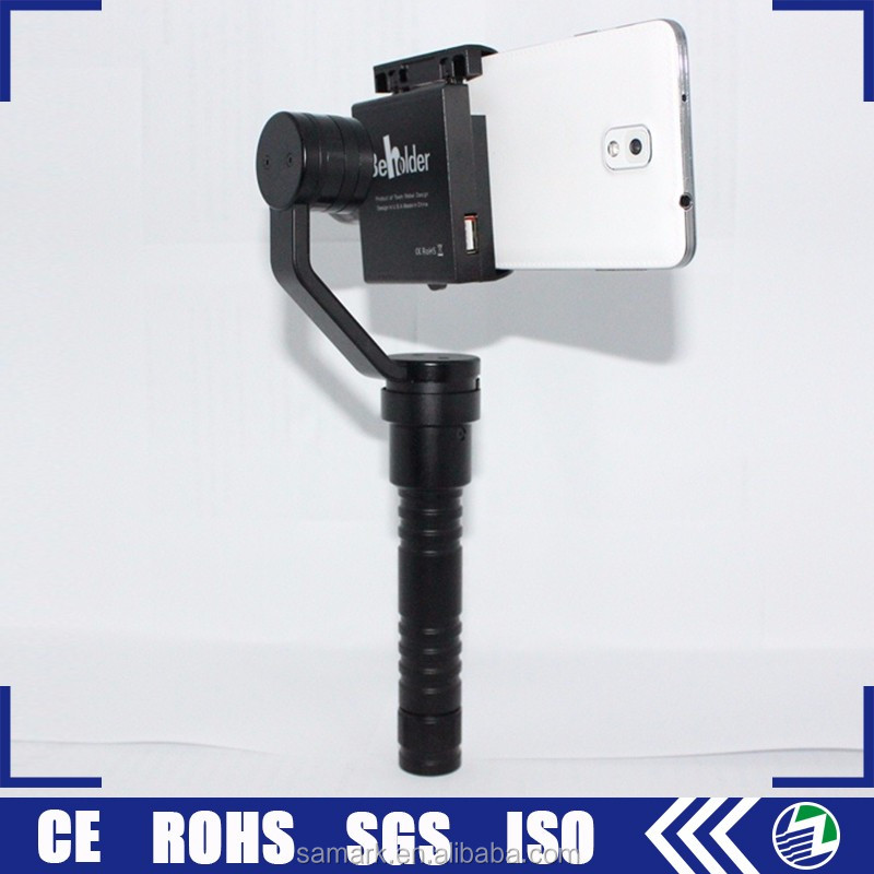 Aluminum easy handheld 3-axis mini handheld mobile phone gimbal stabilizer for iphone