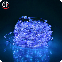 Best Selling Christmas Ornament Led Copper Spot star shape Light