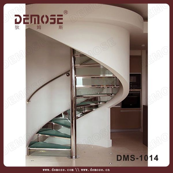 modern popular outdoor/indoor steel stairs steps Russia
