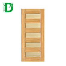 Simple design wood door interior split doors