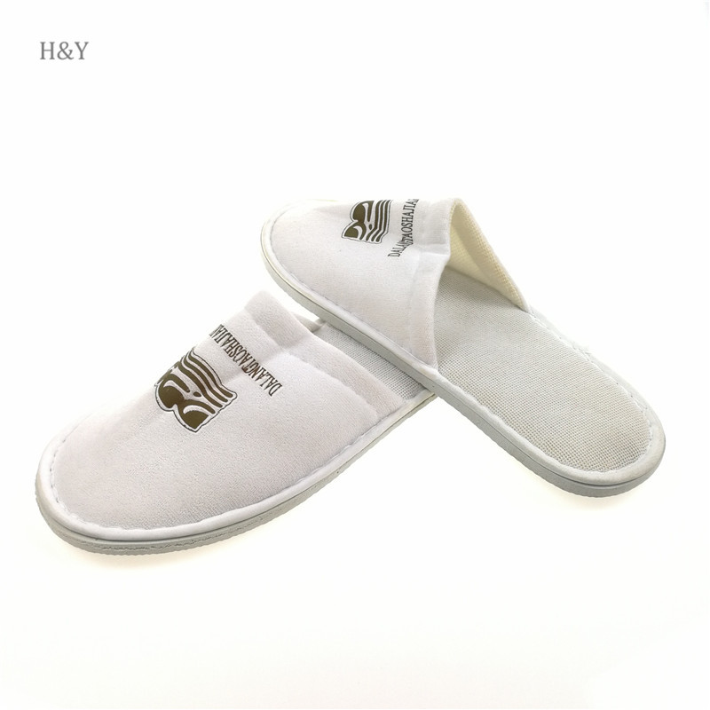Hotel amenities skidproof custom hotel slippers for women