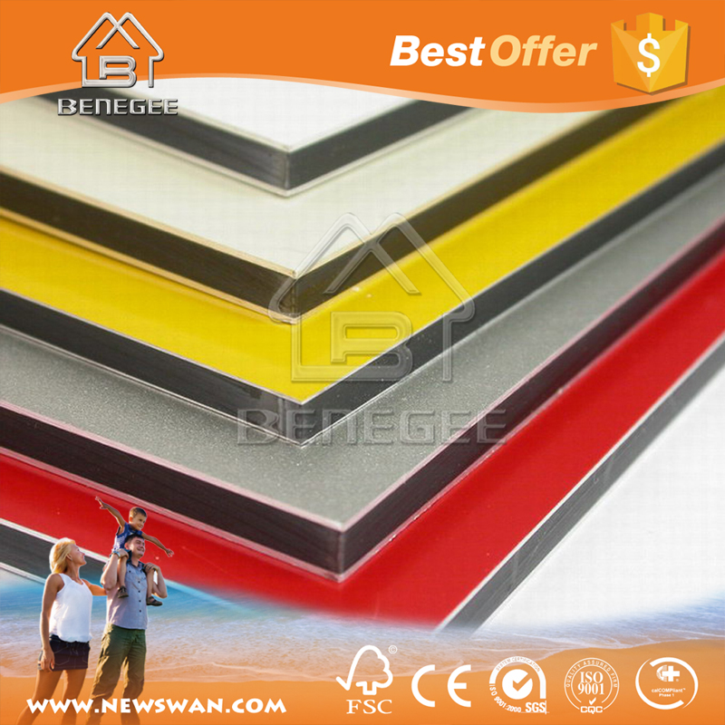 ACP Plastic Panel / ACP Exterior Wood Wall Cladding