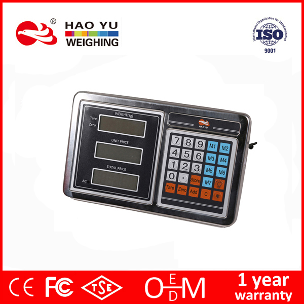 3 windows platform weighing battery price computing indicator