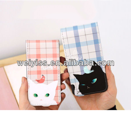 Hand Crafted 2 Pieces Young People Cute Case for iPhone 5