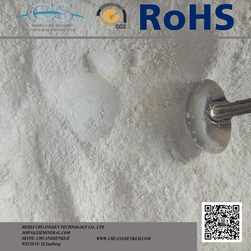 High Whiteness Calcined Kaolin Clay for Ceramic/Sanitary Ware