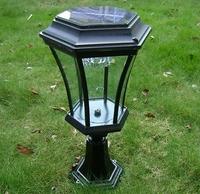 Outdoor Garden Solar LED Post Deck Cap Square Fence Light