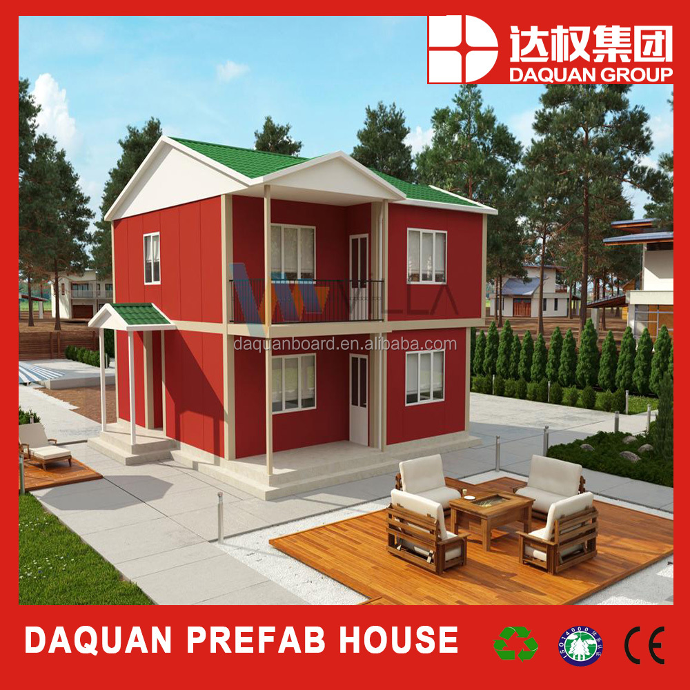 150m2 mid family two floors villa with prefabrication method