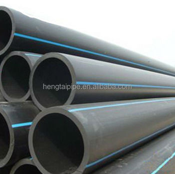 ISO Standard HDPE water supply pipe
