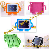 Shock Proof Kids Case Foam EVA case with stand for ipad 2 3 4