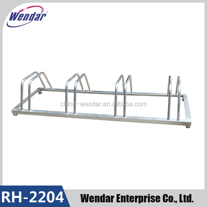 Outdoor high quality steel bicycle parking stand,4 layer bicycle racks