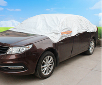 New coming factory wholesale sliver unique design fast car cover
