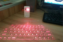 New design high quality bluetooth virtual laser projection keyboard with Spanish keyboard
