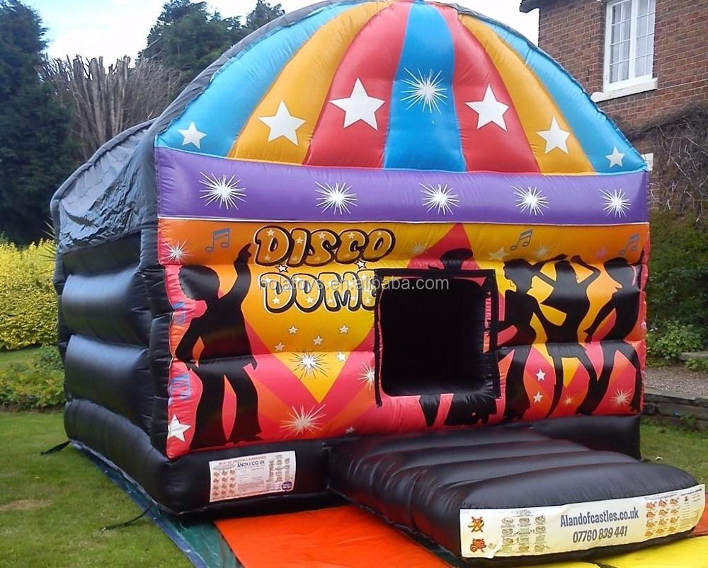 Hot inflatable disco dome for adult/adult bounce house