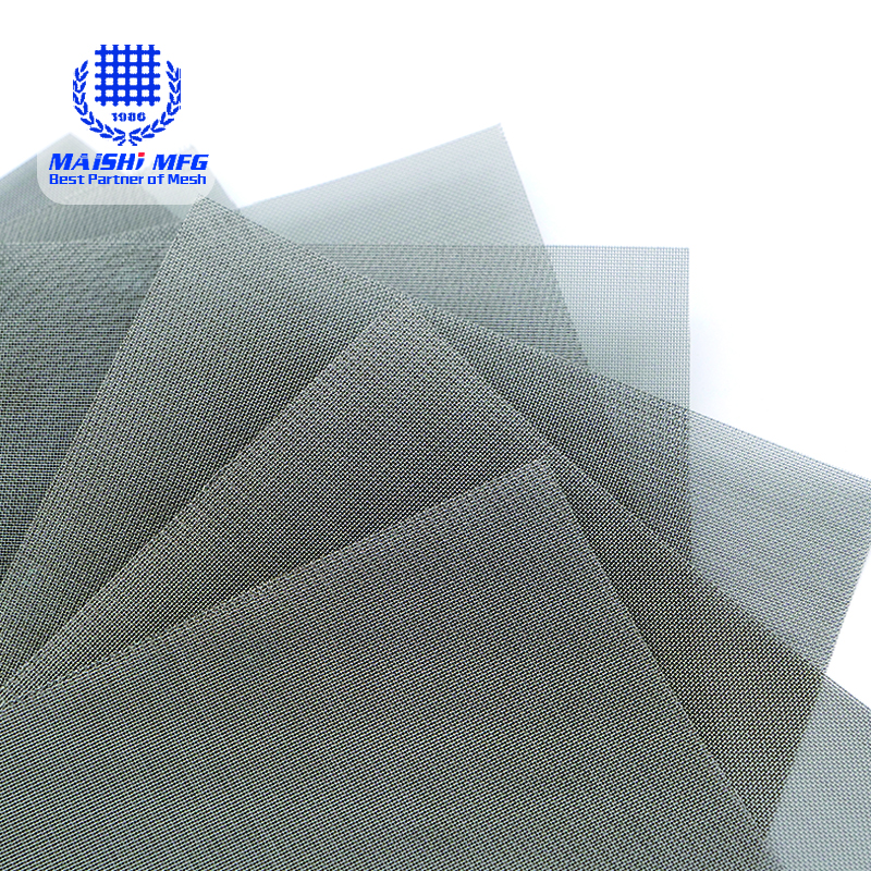 micron stainless steel woven wire mesh for filter screening